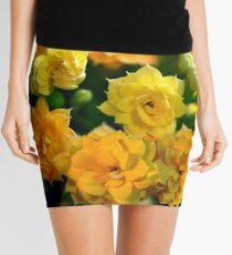 Tiny Yellow Flowers Mini Skirt