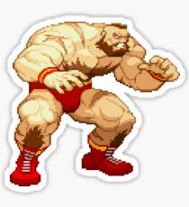 Street Fighter Alpha - Zangief Sticker