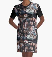 Sam & Dean Winchester / Jensen Ackles & Jared Padalecki - Supernatural Graphic T-Shirt Dress