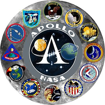 Apollo Mission Composite Logo by Spacestuffplus