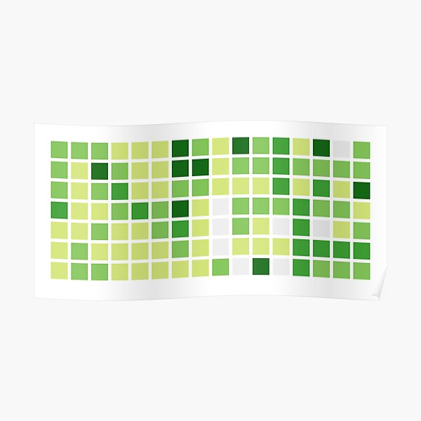 Github Contributions (without text) Poster