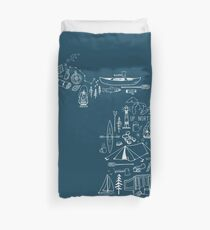 Michigan Outdoor Collection Duvet Cover