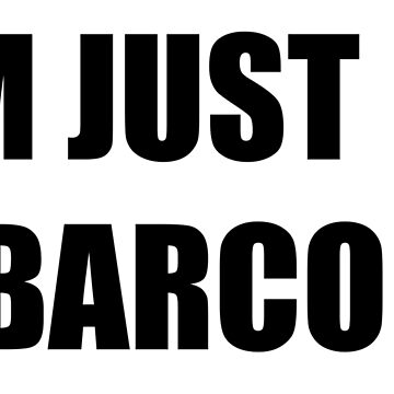 i am just a barcode by Jonysquad