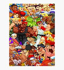 Street Fighter Alpha - Fight! Photographic Print