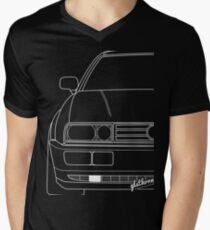 Corrado & quot; Silhouette & quot; Men's V-Neck T-Shirt