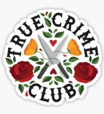 True Crime Club  Sticker