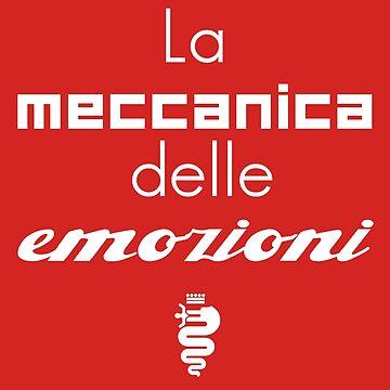 The meccanica delle emozioni (white) by JRLdesign