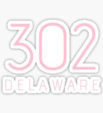 DELAWARE 302 • ROSE Sticker