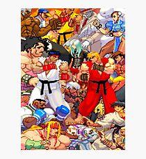 Street Fighter Third Strike - Fight! Photographic Print