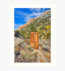 Photographers Comfort Station Art Print