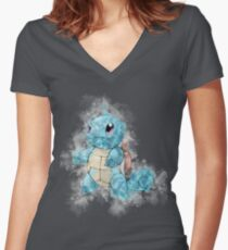 """""""So you chose the water type"""" Women's Fitted V-Neck T-Shirt"""