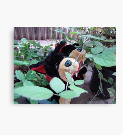 RnR gardening in blackberries Canvas Print