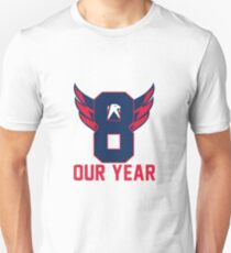Alexander Ovechkin Washington Capitals Stanley Cup Champions 2018 Our Year Unisex T-Shirt