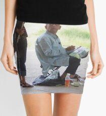 Artist at work Mini Skirt