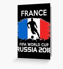 France World Cup 2018 Greeting Card