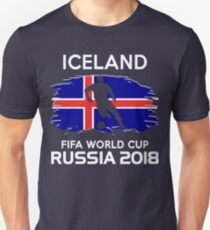 Iceland Team World Cup 2018 Unisex T-Shirt