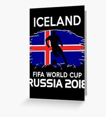 Iceland Team World Cup 2018 Greeting Card