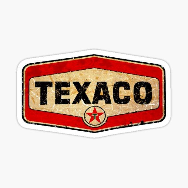 Texaco Öl und Gas Sticker