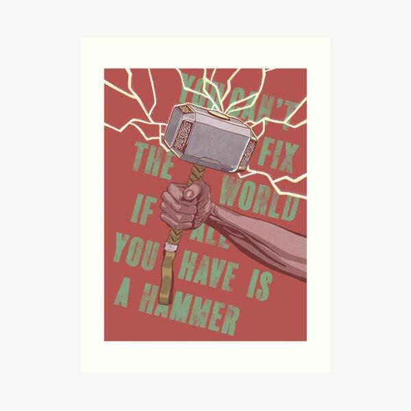 Hammer Art Print