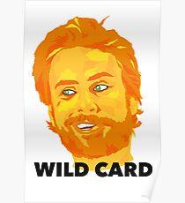 Wild Card Design  Poster