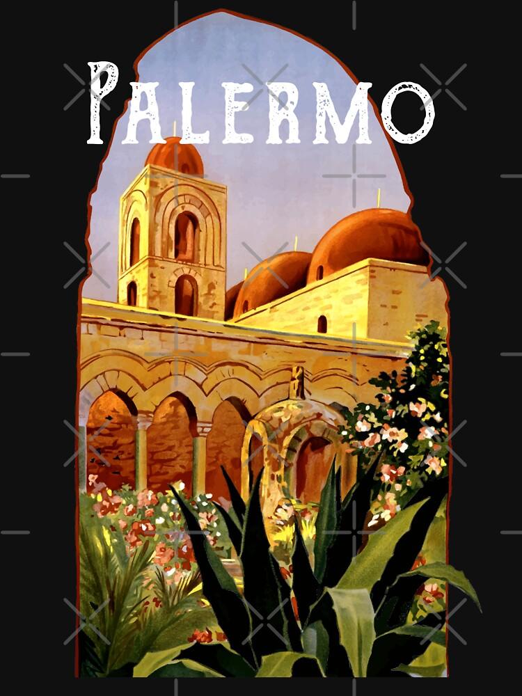 Sicily Palermo Vintage Italian Themed Sicilian Pride by thespottydogg