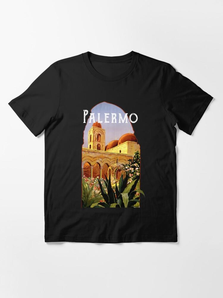Alternate view of Sicily Palermo Vintage Italian Themed Sicilian Pride Essential T-Shirt