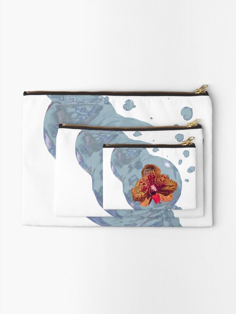 Alternative Ansicht von Wasser Orchidee Täschchen