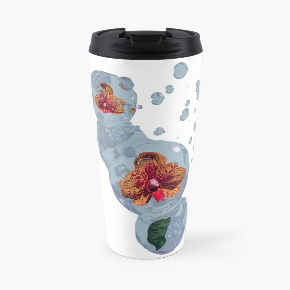 Wasser Orchidee Thermobecher