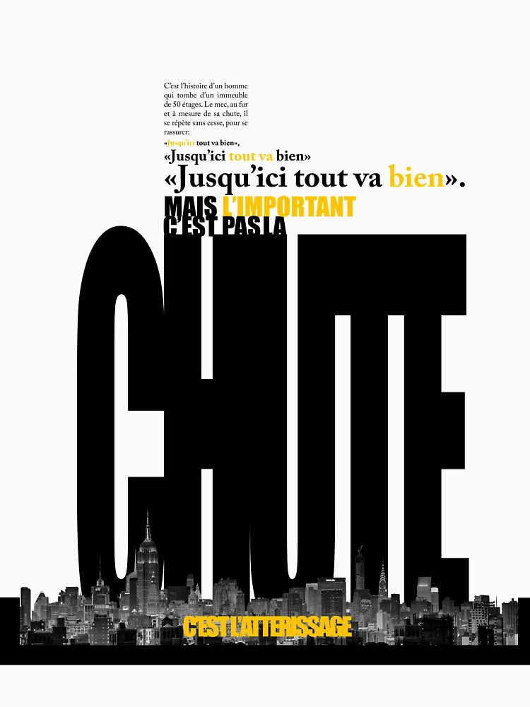 La Chute et l'Atterissage by LeGrandVincent