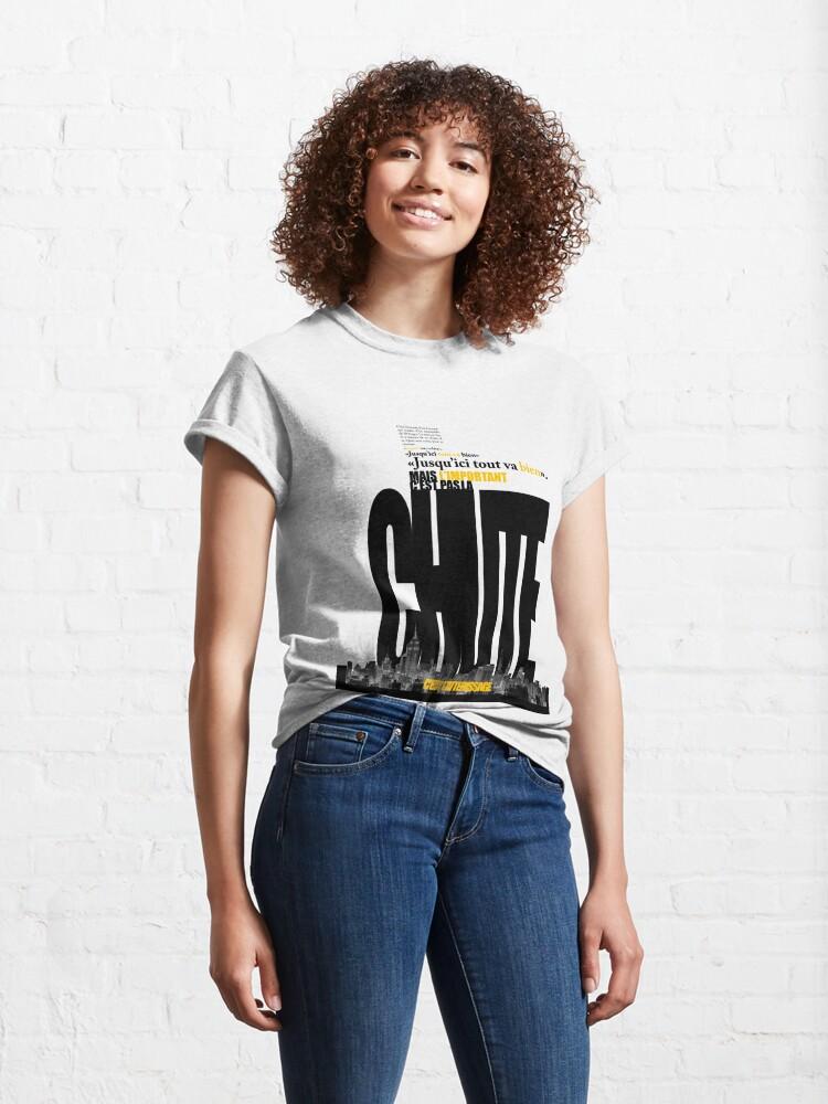 Alternate view of La Chute et l'Atterissage Classic T-Shirt