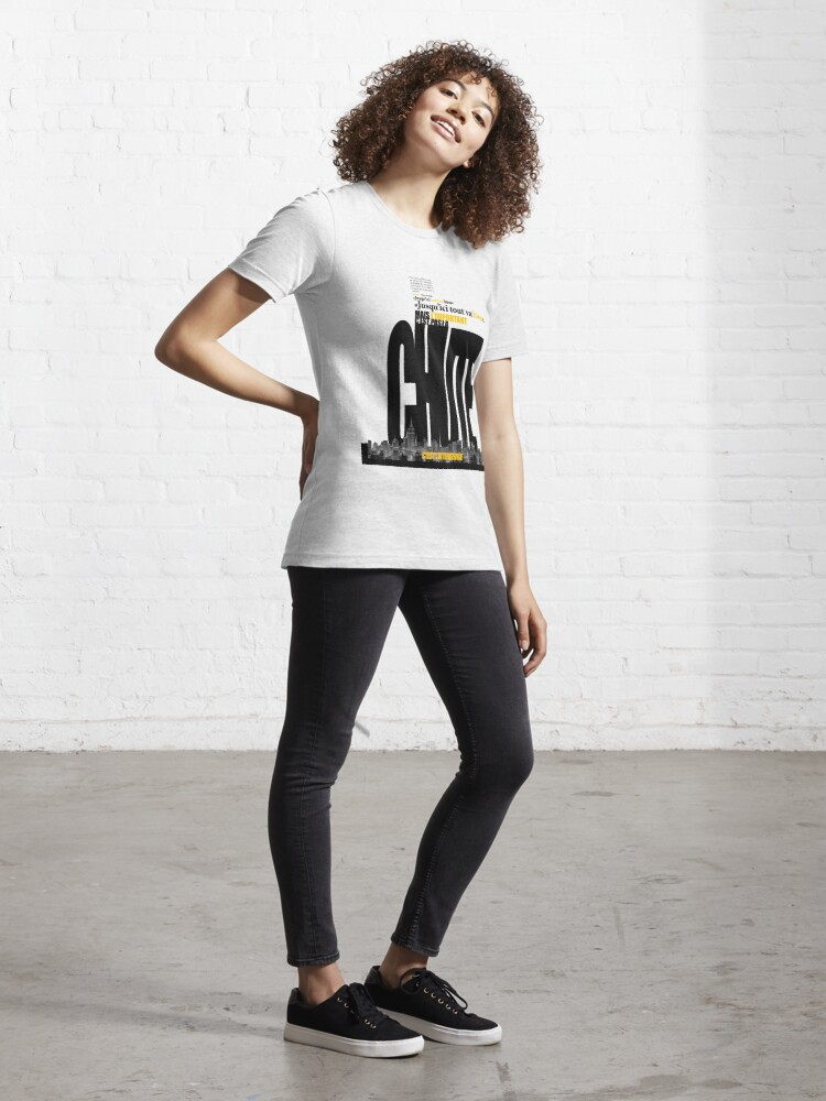Alternate view of La Chute et l'Atterissage Essential T-Shirt