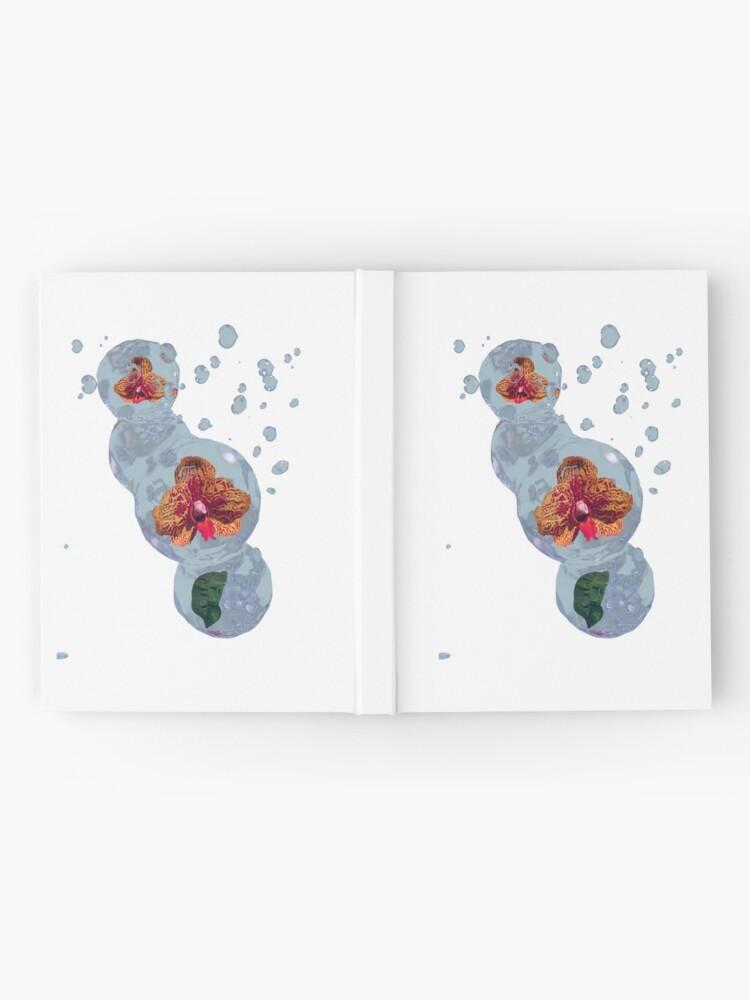 Alternative Ansicht von Wasser Orchidee Notizbuch