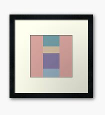 Perfect Pink Pastels Framed Print