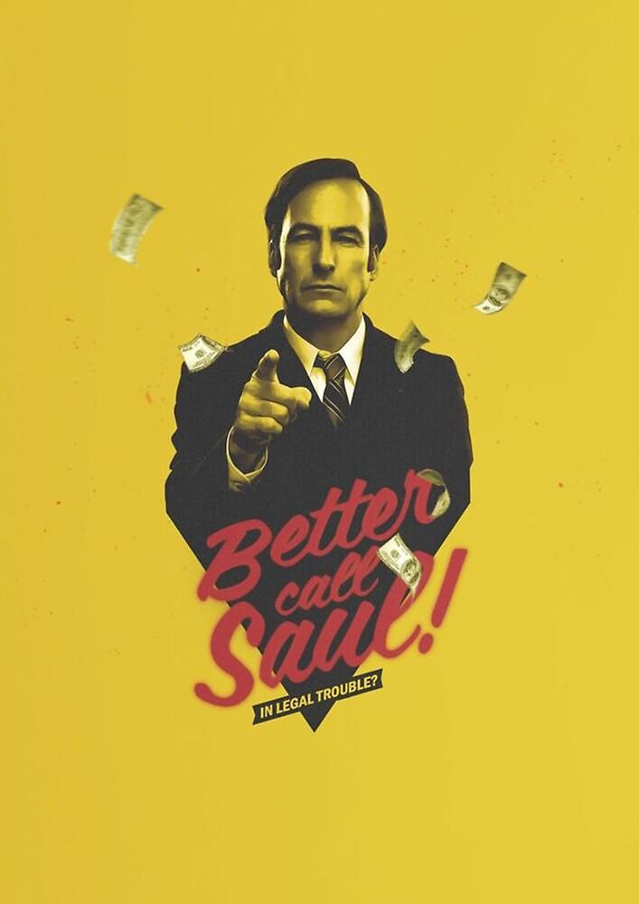 « Better Call Saul Yellow » par BenjiEasy