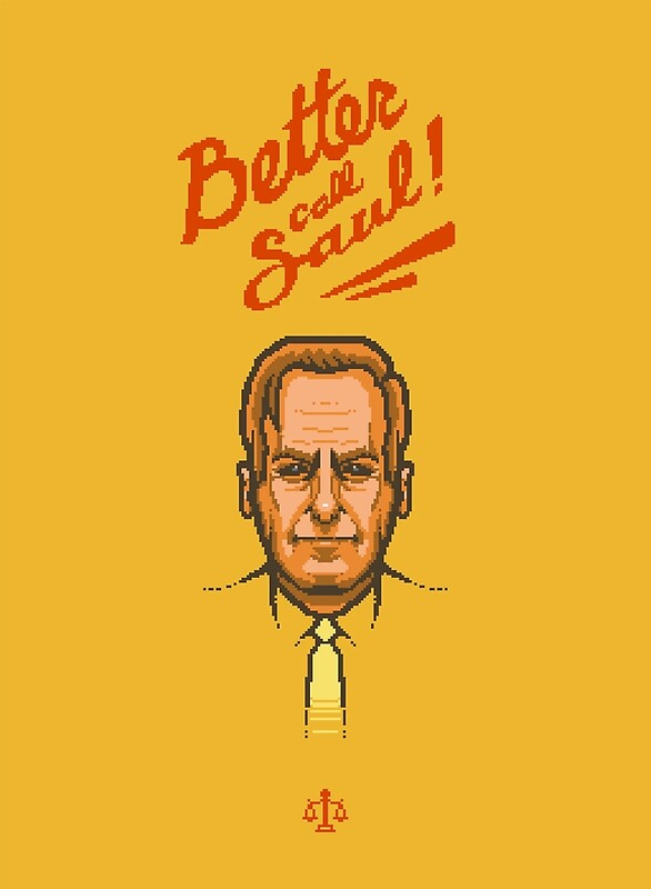 'Better Call Saul Pixel'  by BenjiEasy