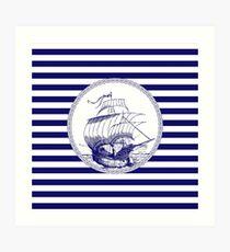 Marine - ship Art Print