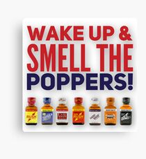 Poppers Canvas Print