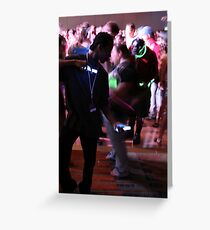 Crave the Rave  Motion Sickness Greeting Card