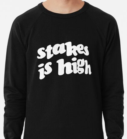 Stakes is High - De La Soul replica tour shirt Lightweight Sweatshirt