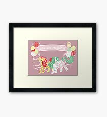 You are magical Framed Print