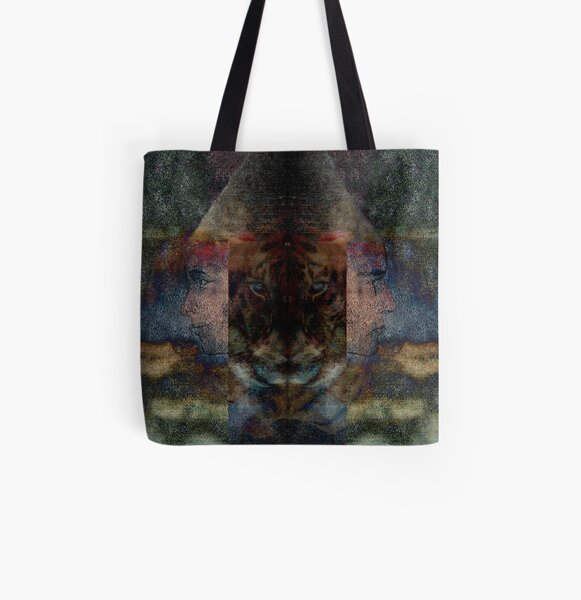 Tiger Dreams All Over Print Tote Bag