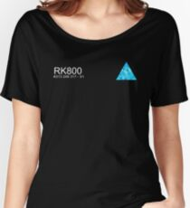 Connor RK800 Detroit Become Human  Women's Relaxed Fit T-Shirt