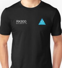 Connor RK800 Detroit Become Human  Unisex T-Shirt