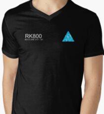 Connor RK800 Detroit Become Human  Men's V-Neck T-Shirt