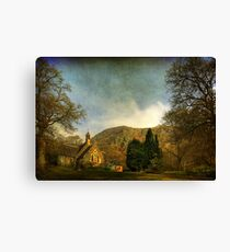 The Kirk by the Hill Canvas Print