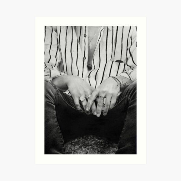 Harry hands Art Print
