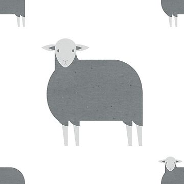 Herdwick sheep (pattern) by psygon