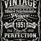 Adam Gussow's Vintage Blues Harmonica Player Made in 1951 by HNA Media