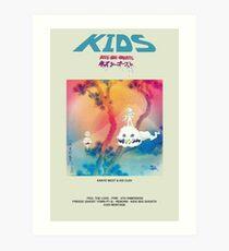 KIDS SEE GHOSTS Art Print