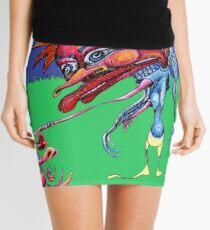 The Cow Jumped Over the Moon Mini Skirt